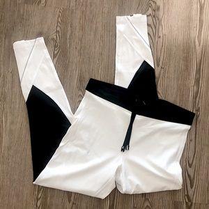 NWOT Victoria's Secret Sport White Leggings